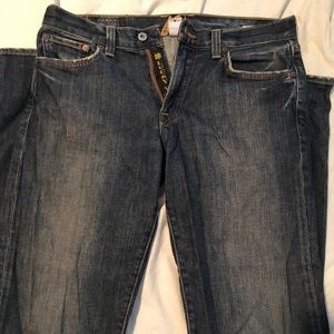 Lucky Brand Zip Up Jeans 31